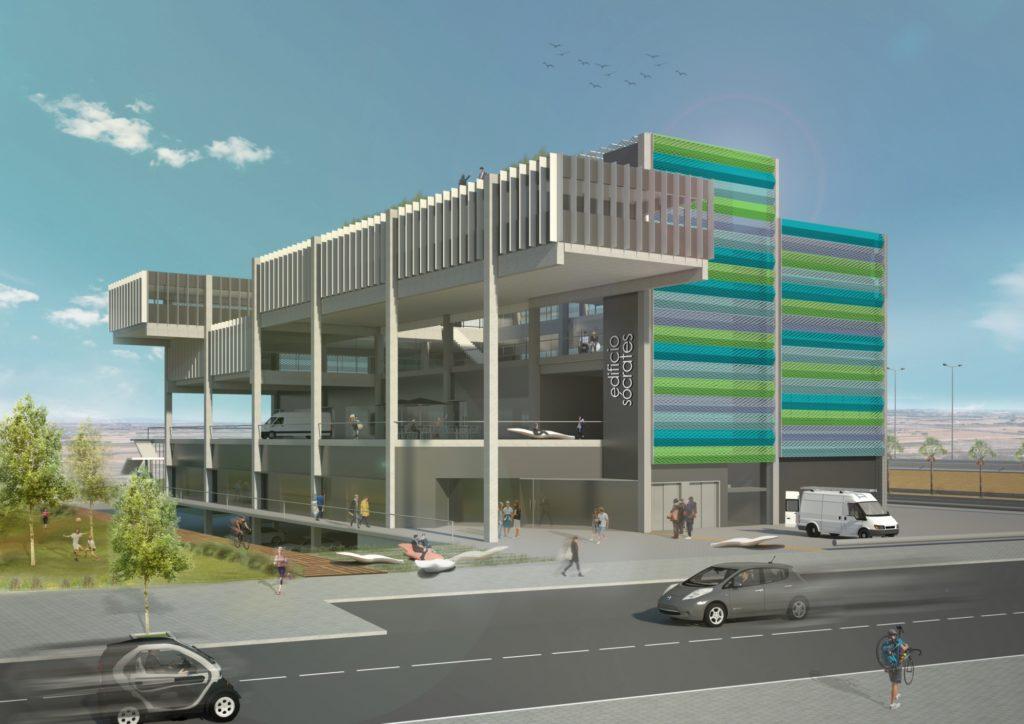 Locales, nave y oficinas en alquiler | Edificio Gonsi Socrates