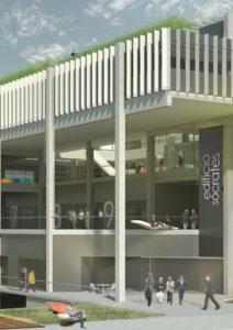 Espacios de trabajo interior y exterior | Edificio Gonsi socrates